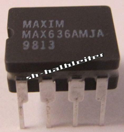 1 Stück MAX636AMJA MAXIM  DIC8 Inverting Switching Regulator