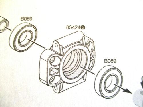 B089 BAJA  WHEEL HUB GEARBOX BEARINGS RUBBER SEAL 12 x 24 x 6  mm 4 PIECES