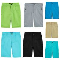 Boy's Arizona Poplin Chino Shorts, 4 5 6 7 8 10 12 14 16 16H 18 18H or 20, $30