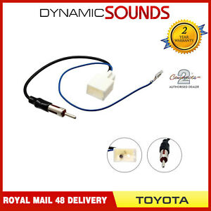 Connects2-CT27AA78-din-Antennen-Adapter-Antennen-Mast-fuer-Toyota-2009-Ab