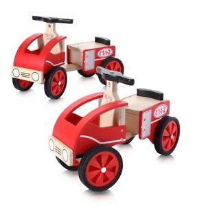 Rutschauto Lauflerngerät  Kinderauto Lauflernwagen Laufwagen Feuerwehr Baby Vivo