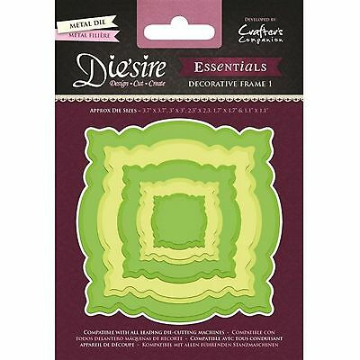 DIE'SIRE ESSENTIALS NESTING SHAPES CUTTING DIES by CRAFTERS COMPANION