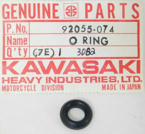 1 NOS 1974-2014 Kawasaki EN ER EX KL KX KZ KLX KSF ZX O-Ring OD=13 OEM 92055-074