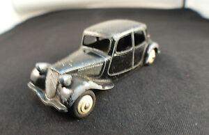 Dinky Toys Gb N° 24n Citroën Traction Avec Malle Grande Gravure