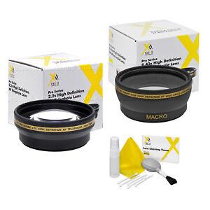 49mm-XIT-Pro-HD-2-2x-Telephoto-0-43x-Wide-Angle-Lens-SONY-NEX-C3-NEX-5N-NEX7