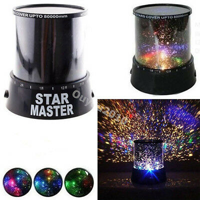 Romantic Cosmos Sky Star Master Night Light Projector LED MOOD Lamp Xmas Gift