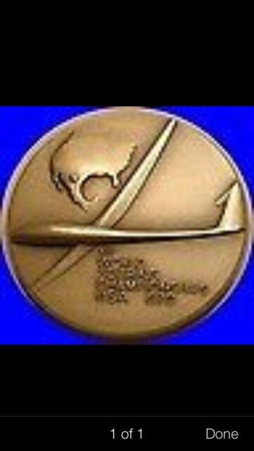 1970 world soaring championship  1.24oz silver medal coin