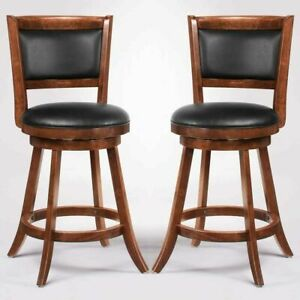 Peachy Coaster 101919 Swivel Bar Stool 24 Inch Upholstered Seat Back Set Of 2 Gmtry Best Dining Table And Chair Ideas Images Gmtryco