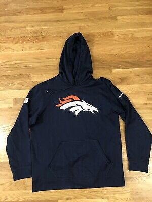 NFL Denver Broncos NIKE Therma Mens Pullover Hoodie