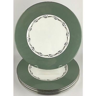 Wedgwood HALFORD (set of 6 ) dinner plates (SKU EC 215) FREE SHIPPING