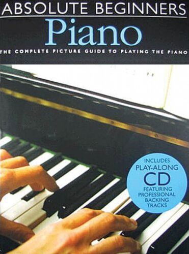 Book and CD NEW 014001015 Absolute Beginners Piano