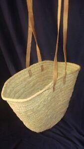 Einkaufstasche-aus-Palmblatt-sehr-stabile-Ausfuehrung-mit-Ledergriff-lang