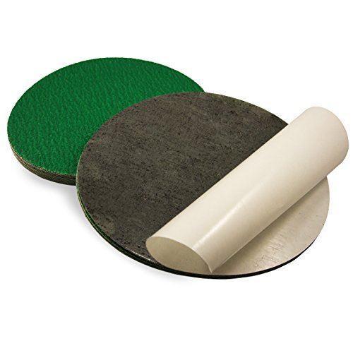 9 Inch 36 Grit Adhesive Back Metal Grinding Zirconia Sanding Discs 5 Pack