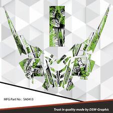 SLED GRAPHICS DECAL STICKER WRAP POLARIS 600 800 PRO-RMK RUSH 2010-2015 SA0413