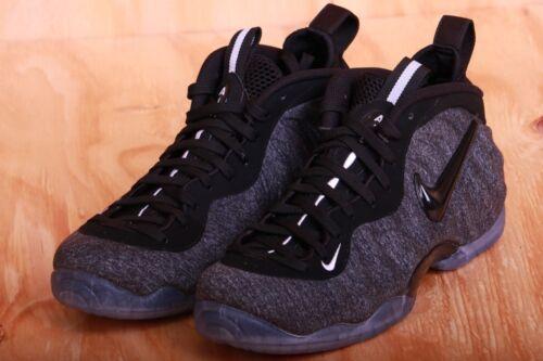 Sz 9 Wool Foamposite 8 Grey Pro 624041 5 007 Dk Heather Black Fleece Nike Tech H29IDWE