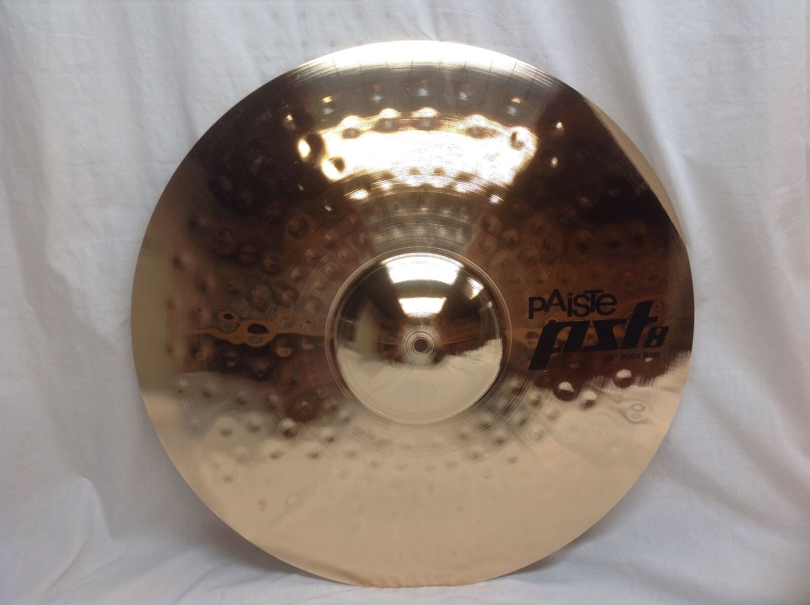 Paiste PST8 22  Reflector Rock Ride Cymbal Brand New