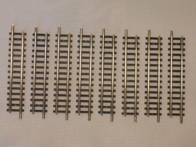 MINITRIX 14905 / 4905 ger. Gleis 76,3mm TOP 8 Stück (32796)