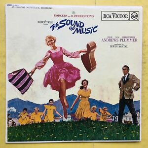 Il-Suono-di-Musica-Julie-Andrews-Christopher-Plummer-Rca-SB-6616-Stereo-Ex