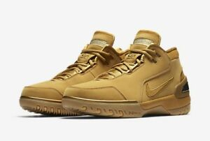 Nike Men's Air Zoom Generation ASG QS LeBron Sz 9.5 [AQ0110 700] Wheat Gold