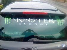 VINILE Adesivi Auto Lunotto Posteriore Sunstrip Logo Decalcomanie Grafiche Racing Rally KIT
