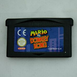 Jeu-MARIO-Vs-DONKEY-KONG-sur-Nintendo-Game-boy-Advance-GBA
