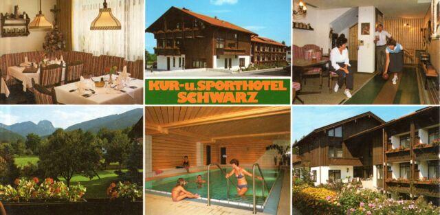 83075 Bad Feilnbach am Wendelstein   -  Kur- und Sporthotel Schwarz  -  ca.1985