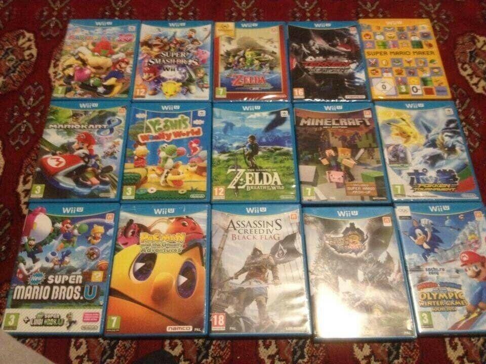 Nintendo Wii U spil, Nintendo Wii U