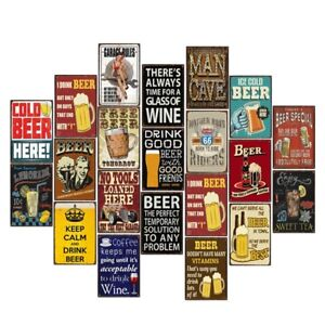 Vintage-Metal-Tin-Signs-Retro-Beer-Sign-Plaque-Pub-Bar-Art-Decor-Wall-Poster