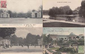 Lot 4 cartes postales anciennes BELGIQUE BRUXELLES bois de la cambre 2 | eBay
