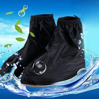 Reusable Rain Shoe Covers Waterproof Shoes Overshoes Boot Gear Anti-slip Hot9c