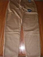 Mens Hollywood Flex Jean Knit Comfort Khaki Brown Tan Jeans Pants