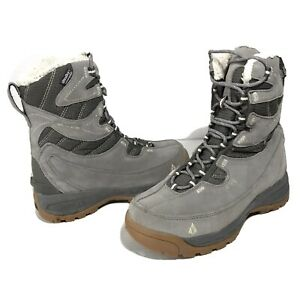 Vasque-7805-Pow-Pow-Womens-Size-7-5-Winter-Boots-Gray-3M-Thinsulate-UltraDry