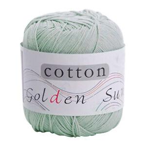 DIY-Crochet-Knitting-100-Milk-Hand-woven-Yarn-Wool-Cotton-Baby-UK