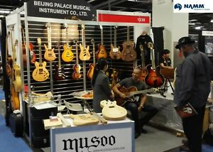 musoo brand 8 strings fanned fret headless electric guitar ebay. Black Bedroom Furniture Sets. Home Design Ideas