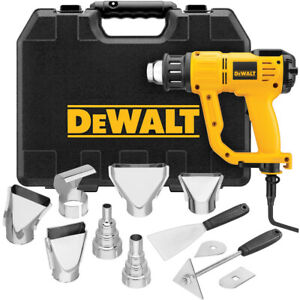 DEWALT-Heavy-Duty-Heat-Gun-w-LCD-Display-amp-Kitbox-D26960K-New