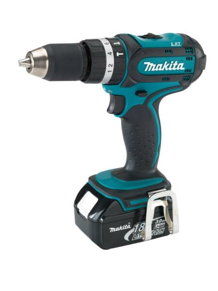 makita bhp452 18v li ion 1 2 cordless drill driver ebay. Black Bedroom Furniture Sets. Home Design Ideas