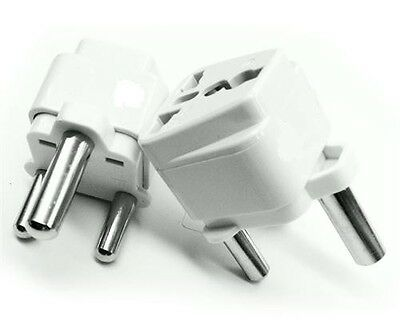 Travel Adapter Plug Type M Grounded Socket BS546 Outlet For South Africa 5Pcs
