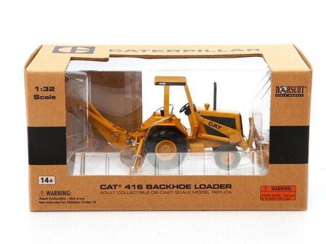 Norscot Caterpillar Cat 416 Retroexcavadora 1 32 Metal Metal Metal Diecast Modelo 55271 6a0da9