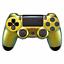 Indexbild 1 - PS4 Controller JDM-040 Case Cover Hülle Gehäuse Front Chamelon Gold Slim Pro