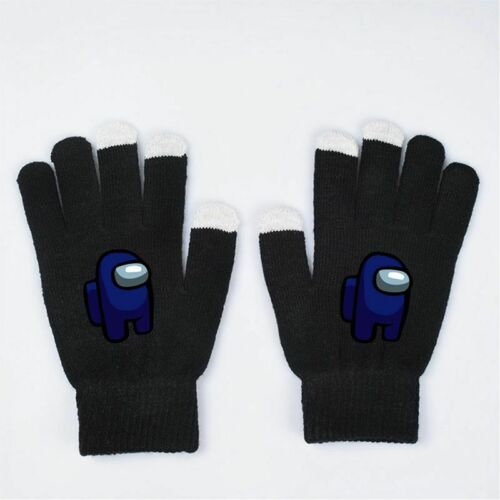 Game Among Us Soft Warm Christmas Gifts Winter Scarf Touch Gloves Hat Socks Xmas