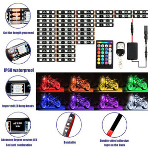 12pcs-Motorcycle-RGB-LED-Strip-Underglow-Light-Kit-with-2-Remote-Controls
