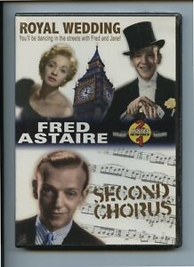 Fred-Astaire-Double-Feature-Royal-Wedding-amp-Second-Chorus-All-Region-DVD