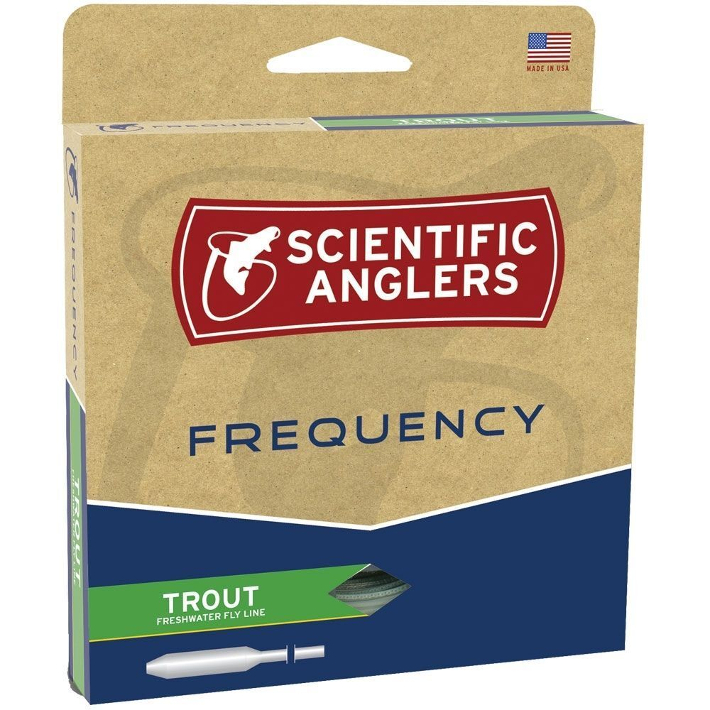 SCIENTIFIC ANGLERS FREQUENCY TROUT WF-4-F  4 WEIGHT FORWARD LINE FLOATING FLY LINE FORWARD 0996ed