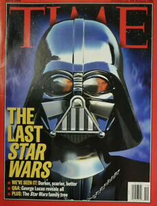 Time-Magazine-May-9-2005-Darth-Vader-Cover-The-Last-Star-Wars-No-Label-EX