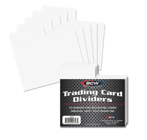 10-BCW-Horizontal-Trading-Card-Dividers-Fits-Single-Row-Card-Storage-Boxes