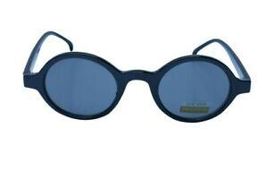 Best-Vintage-Sunglasses-90-039-s-Plastic-Small-amp-Tiny-Black-Frame-with-Black-Lenses