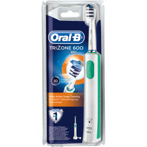 Oral-B Trizone 600 Rechargeable Electric 3D Action Toothbrush Powered by Braun