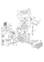 Mountfield SP454 Petrol Lawnmower V35 Engine External Engine Parts 2011-2012