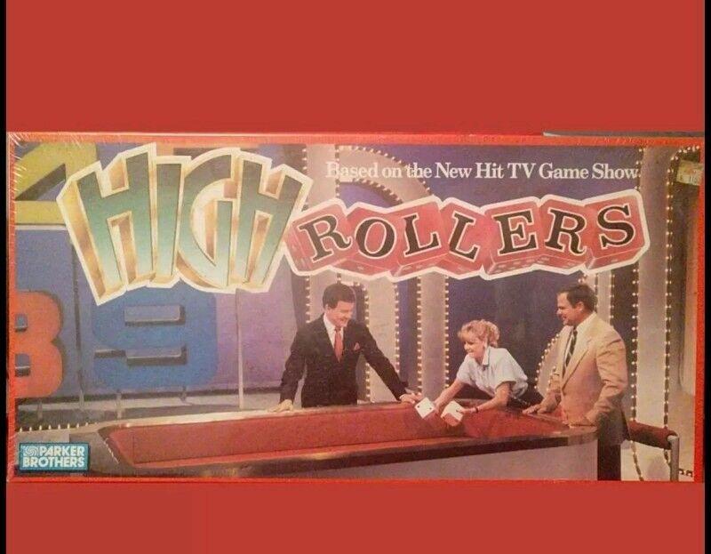 Neue high - roller von parker brothers nach tv - show