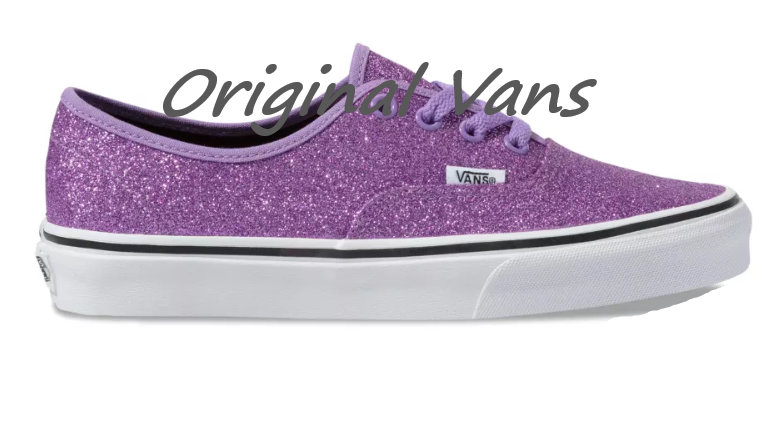 sparkly womens vans